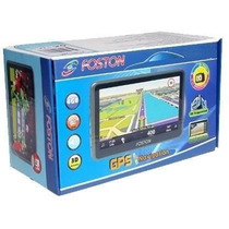 Gps Automotivo Foston Fs 3d717 Tela 7 Full Hd Cam Ré Tv 3d