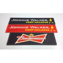 Kit Bar Mat Com 2 Tapetes Johnnie Walker E 1 Budweiser