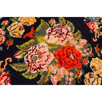 Tapete Kilim Turco Aubusson Floral Francês À Mão 1,65x3,00m