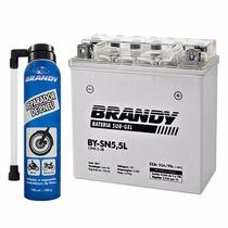 Bateria Sub Gel Brandy Moto Ybr125 By-sn5,5l + Repadador