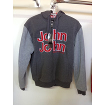 Jaqueta Moleton John John C\ Capuz Blusa Black Friday