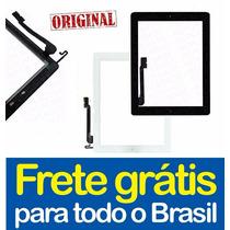 Tela Touch Ipad 4 + Flex Botão Home + Adesivo - 100%original