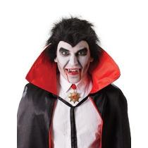 Traje Do Vampiro - Dracula Presas De Prata Dentes Caps
