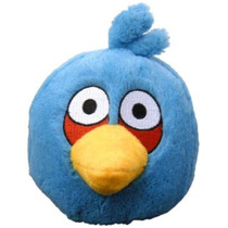 Angry Birds De Pelúcia 5-inch Pássaro Azul Com Som