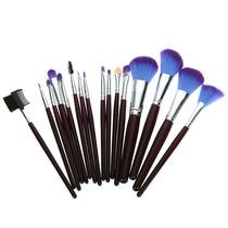 Conjunto De Pincéis Para Maquiagem, 16 Peças