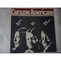 Disco Vinil Lp Corazón Americano ##