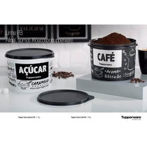 Tupperware - Tupper Caixa Kit Café + Açúcar P & B