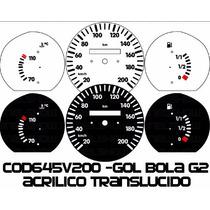 Acrilico Kit Translúcido P/ Painel Cod645v200 Gol Bola 95 96