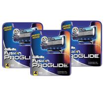 Kit Gillette 12 Cargas Proglide Fusion