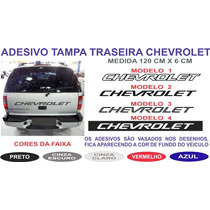 Acessorios Adesivo Tampa Traseira Chevrolet S10 Blazer