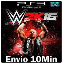 Wwe 2k16 Playstation 3 Psn Ps3 Lançamento ** Midia Digital