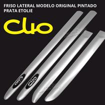 Friso Da Porta Para Clio 4 Portas 2013 14 15 16 Prata Etolie