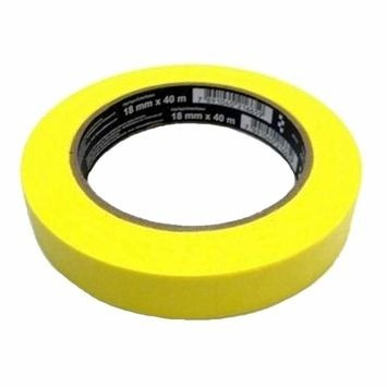 3m Fita Crepe Amarela Alta Performance - 18mm X 40m - ( un )