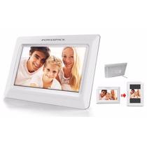 Porta Retrato Digital Powerpack Pdf 700, Usb, Sd,promoção