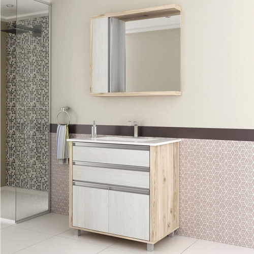 Gabinete para Banheiro  Preços a Partir de R$ 159,00  Buscapé -> Cuba Para Banheiro Buscape