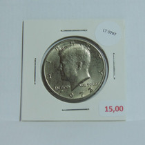 Moeda Eua Half Dollar 1972 Kennedy - Lt0797