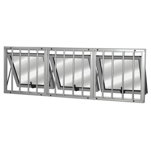 Maxim Ar Alumínio 3 Seções Com Grade Mgm Sólida