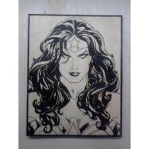 Wonder Woman Mulher Maravilha Justice League Quadro