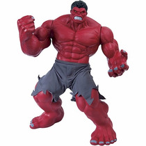Boneco Novo Hulk Vermelho Premium Gigante - Mimo 55cm