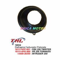 Diafragma Carburador Pistonete Cbx 250 Twister Xr 250 16934