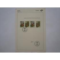 Edital 1984 Nº 16 C/ Selos Preservação Da Fauna Brasileira