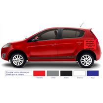 Acessórios Kit Adesivo Fiat Novo Palio Faixa Lateral Tuning