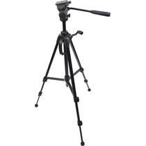 Tripe Cabeça Hidraulica Câmera Digital Filmadora Dslr 1,70mt