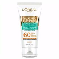 Protetor Solar Facial Fps 60 50g Toque Seco Loreal Paris