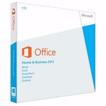 Office 2013 Home And Business Pt Fpp Licença - 12x Sem Juros