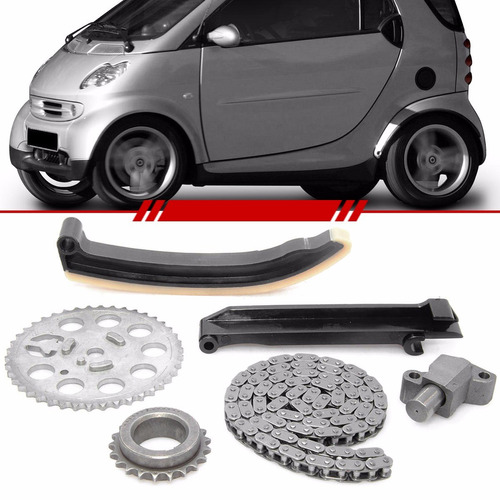 Kit Corrente De Comando Smart City Coupe 2010 10 Completo