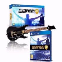 Guitar Hero Live Ps4 Bundle Guitarra E Jogo Original