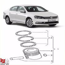 Jogo De Anéis Motor Volkswagen Passat 2.0 Tsi 2009 A 2014
