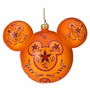 Mickey Enfeite Laranja Arvore De Natal Disney