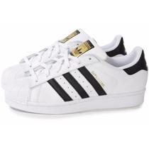 Tênis Adidas Superstar Novo Na Caixa E Frete Grátis Promoção