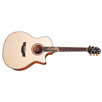 Violao Crafter Pk Maho Plus C/bag Dxb (4239)