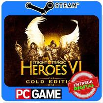 Might & Magic Heroes Vi Gold Pc Steam Cd-key Global