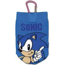 Bolsa Celular Sonic The Hedgehog Clássico De Malha Ge17154