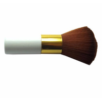 Pincel De Maquiagem Para Pó Compacto Profissional - Branco