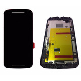 Tela Touch Display Lcd Frontal Moto G2 G 2 Xt1068 Xt1069 Aro