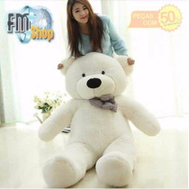 Urso De Pelúcia Gigante 100cm Teddy Bear 1 Metro Natal