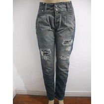 Calça Jeans Feminina Saruel Rasgada Tam 40 Usado Bom Estado