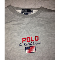 Blusa Moletom Polo By Ralph Lauren Original Imp. Eua Gap Usa