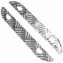 Soleira De Porta Alumínio Xadrez