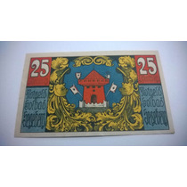 Cédula Notgeld 25 Pfennig 1920 - Lt0087