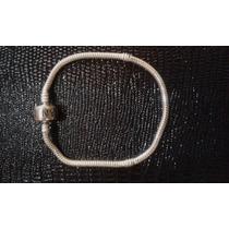 Pulseira Pandora Prata Italiana Maciça 925 16 À 21 Cm