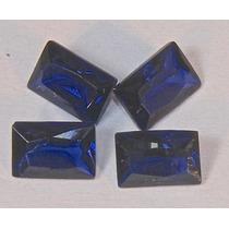 Rsp 2976 Safira Azul Canto Vivo 6x4mm Preço Por Gema 0,64ct