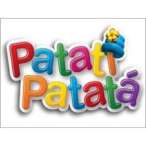 Patatí E Patatá Kit 2 Bonecos Da Multibrink Original