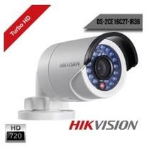 Câmera Infra Hikvision Turbo Hd 20mt Hd-tvi 1.0mp 720p 3.6mm