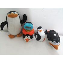 Coleção Pinguins Madagascar Mc Donalds Mc Lanche 4 Peças