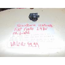 Resistencia Ventuinha Fiat Punto 1.4 8v Original.